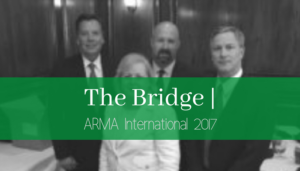 "<span class=""entry-title-primary"">The Bridge</span> <span class=""entry-subtitle"">ARMA International 2017</span>"