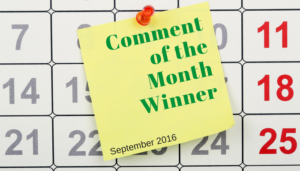 "<span class=""entry-title-primary"">Comment of the Month</span> <span class=""entry-subtitle"">August 2016 Winner</span>"