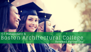 """<span class=""""entry-title-primary"""">Newest Partnership with IST</span> <span class=""""entry-subtitle"""">Thank you Boston Architectural College!</span>"""