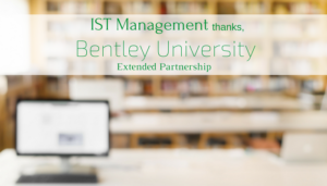 "<span class=""entry-title-primary"">Renewed Partnership with IST</span> <span class=""entry-subtitle"">Thank you, Bentley University!</span>"