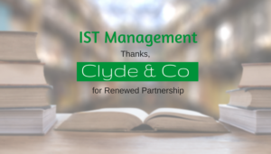 "<span class=""entry-title-primary"">Renewed Partnership with IST</span> <span class=""entry-subtitle"">Thank you, Clyde & Co.!</span>"