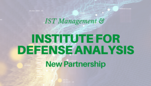 """<span class=""""entry-title-primary"""">Newest Partnership with IST</span> <span class=""""entry-subtitle"""">Thank you, Institute for Defense Analyses, Alexandria, VA!</span>"""