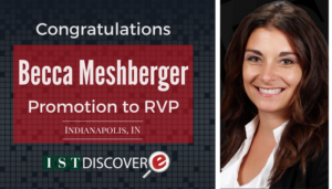 "<span class=""entry-title-primary"">New Promotion Within IST</span> <span class=""entry-subtitle"">Congratulations Becca Meshberger, Promoted to RVP!</span>"