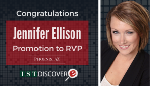 """<span class=""""entry-title-primary"""">New Promotion at IST</span> <span class=""""entry-subtitle"""">Congratulations, Jennifer Ellison, Promotion to RVP!</span>"""