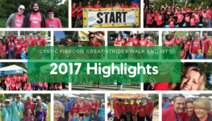 "<span class=""entry-title-primary"">Cystic Fibrosis Great Strides Walk and IST</span> <span class=""entry-subtitle"">2017 Highlights</span>"