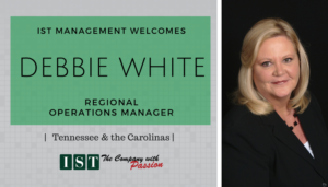 "<span class=""entry-title-primary"">New Employee with IST</span> <span class=""entry-subtitle"">Welcome Debbie White, Regional Operations Manager!</span>"