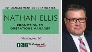"<span class=""entry-title-primary"">Announcing an IST Promotion</span> <span class=""entry-subtitle"">Congratulations Nathan Ellis, Operations Manager!</span>"
