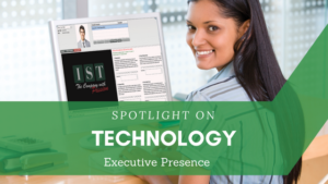 """<span class=""""entry-title-primary"""">Spotlight on Technology</span> <span class=""""entry-subtitle"""">Executive Presence </span>"""