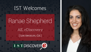 """<span class=""""entry-title-primary"""">New Employee with IST</span> <span class=""""entry-subtitle"""">Welcome Ranae Shepherd, Account Executive in LA!</span>"""