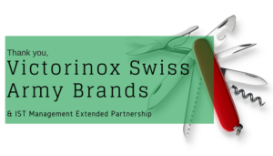 "<span class=""entry-title-primary"">Renewed Partnership with IST</span> <span class=""entry-subtitle"">Thank you, Victorinox Swiss Army Brands in Monroe, CT!</span>"