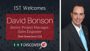 """<span class=""""entry-title-primary"""">Newest Employee with IST</span> <span class=""""entry-subtitle"""">Welcome David Bonson, Senior Project Manager in San Francisco!</span>"""