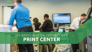"""<span class=""""entry-title-primary"""">Spotlight on Technology</span> <span class=""""entry-subtitle"""">Print Center</span>"""
