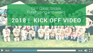 "<span class=""entry-title-primary"">Cystic Fibrosis Foundation Great Strides Walk</span> <span class=""entry-subtitle"">2018 Kick Off Video</span>"