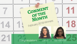 "<span class=""entry-title-primary"">Comment of the Month 