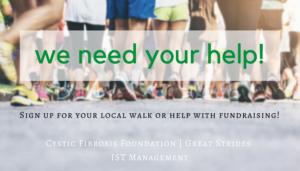 "<span class=""entry-title-primary"">IST & CFF Great Strides</span> <span class=""entry-subtitle"">Help Us Raise Money and Sign Up to Walk!</span>"