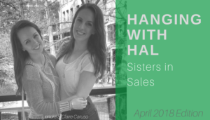 "<span class=""entry-title-primary"">Hanging with Hal</span> <span class=""entry-subtitle"">Sisters in Sales</span>"
