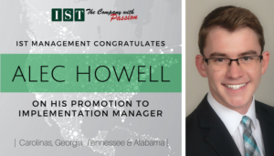 """<span class=""""entry-title-primary"""">New Promotion within IST</span> <span class=""""entry-subtitle"""">Congratulations Alec Howell, Implementation Manager!</span>"""