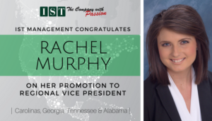 """<span class=""""entry-title-primary"""">New Promotion within IST</span> <span class=""""entry-subtitle"""">Congratulations Rachel Murphy, New Regional Vice President!</span>"""