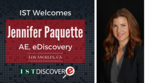 "<span class=""entry-title-primary"">Newest Employee with IST</span> <span class=""entry-subtitle"">Welcome Jennifer Paquette, Account Executive with eDiscovery!</span>"