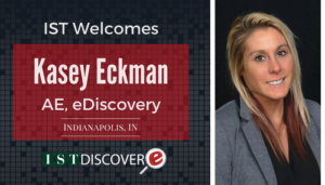 "<span class=""entry-title-primary"">Newest Employee with IST</span> <span class=""entry-subtitle"">Welcome Kasey Eckman, Account Executive with eDiscovery!</span>"