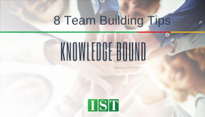 """<span class=""""entry-title-primary"""">Knowledge Bound</span> <span class=""""entry-subtitle"""">8 Team Building Tips</span>"""