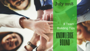 "<span class=""entry-title-primary"">Knowledge Bound</span> <span class=""entry-subtitle"">8 Team Building Tips</span>"