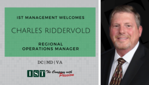 """<span class=""""entry-title-primary"""">Newest Employee with IST</span> <span class=""""entry-subtitle"""">Welcome Charles Riddervold, Regional Operations Manager for DC, MD & VA!</span>"""