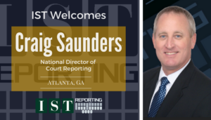 "<span class=""entry-title-primary"">Newest Employee with IST</span> <span class=""entry-subtitle"">Welcome Craig Saunders, National Director of Court Reporting!</span>"