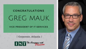 """<span class=""""entry-title-primary"""">New Promotion within IST</span> <span class=""""entry-subtitle"""">Congratulations Greg Mauk, Vice President of IT Services!</span>"""