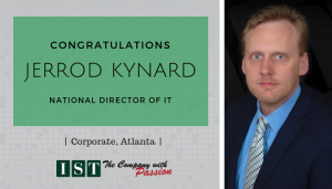 "<span class=""entry-title-primary"">New Promotion within IST</span> <span class=""entry-subtitle"">Congratulations Jerrod Kynard, National Director of IT!</span>"