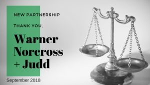 "<span class=""entry-title-primary"">Newest Partnership with IST</span> <span class=""entry-subtitle"">Thank you, Warner Norcross + Judd LLP!</span>"