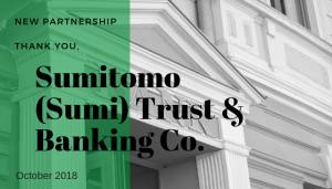 "<span class=""entry-title-primary"">Newest Partnership with IST</span> <span class=""entry-subtitle"">Thank you Sumimoto (Sumi) Trust & Banking Co. in New York!</span>"