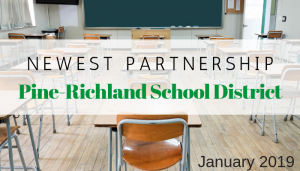 """<span class=""""entry-title-primary"""">Newest Partnership with IST</span> <span class=""""entry-subtitle"""">Thank you, Pine-Richland School District!</span>"""