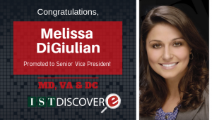 """<span class=""""entry-title-primary"""">Newest Promotion within IST</span> <span class=""""entry-subtitle"""">Congratulations Melissa DiGiulian, Senior Vice President!</span>"""