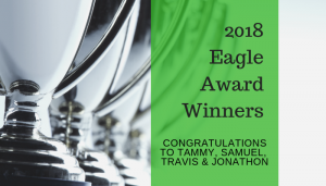 "<span class=""entry-title-primary"">2018 Eagle Award Winners</span> <span class=""entry-subtitle"">Congratulations Tammy, Samuel, Travis & Jonathon!</span>"