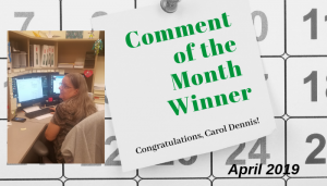 """<span class=""""entry-title-primary"""">Comment of the Month Winner</span> <span class=""""entry-subtitle"""">Congratulations to Carol Dennis at Akerman LLP!</span>"""