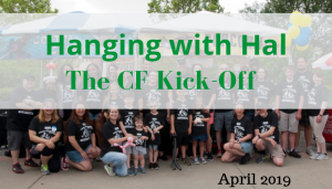 """<span class=""""entry-title-primary"""">Hanging with Hal</span> <span class=""""entry-subtitle"""">The Cystic Fibrosis Kick Off</span>"""