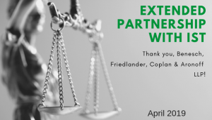 """<span class=""""entry-title-primary"""">Extended Partnership with IST</span> <span class=""""entry-subtitle"""">Thank you, Benesch, Friedlander, Coplan & Aronoff LLP!</span>"""