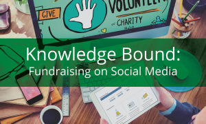 "<span class=""entry-title-primary"">Knowledge Bound</span> <span class=""entry-subtitle"">Fundraising on Social Media</span>"