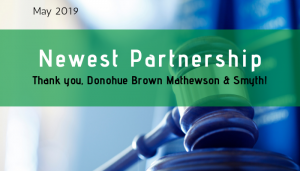 """<span class=""""entry-title-primary"""">Newest Partnership with IST</span> <span class=""""entry-subtitle"""">Thank you, Donohue Brown Mathewson & Smyth!</span>"""
