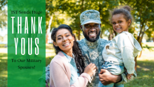 "<span class=""entry-title-primary"">IST's Military Spouse Program</span> <span class=""entry-subtitle"">Our Thank You Video</span>"
