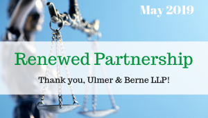 """<span class=""""entry-title-primary"""">Renewed Partnership with IST</span> <span class=""""entry-subtitle"""">Thank you, Ulmer & Berne LLP!</span>"""