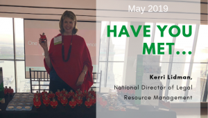 """<span class=""""entry-title-primary"""">Have You Met…</span> <span class=""""entry-subtitle"""">Kerri Lidman, National Director of Legal Resource Management for IST!</span>"""