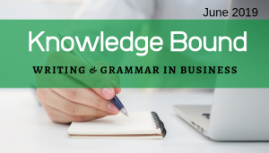 "<span class=""entry-title-primary"">Knowledge Bound</span> <span class=""entry-subtitle"">Writing & Grammar in Business</span>"