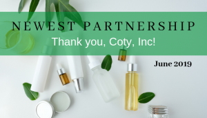 """<span class=""""entry-title-primary"""">Newest Partnership with IST</span> <span class=""""entry-subtitle"""">Thank you, Coty, Inc. in Calabasas, CA!</span>"""