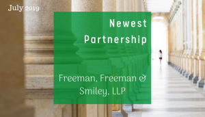 "<span class=""entry-title-primary"">Newest Partnership with IST</span> <span class=""entry-subtitle"">Thank you, Freeman, Freeman & Smiley LLP in California!</span>"