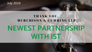 "<span class=""entry-title-primary"">Newest Partnership with IST</span> <span class=""entry-subtitle"">Thank you, Murchison & Cumming LLP!</span>"