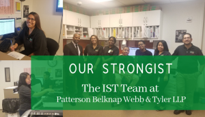 """<span class=""""entry-title-primary"""">Our StrongIST</span> <span class=""""entry-subtitle"""">Our Amazing IST Team at Patterson Belknap Webb & Tyler LLP</span>"""