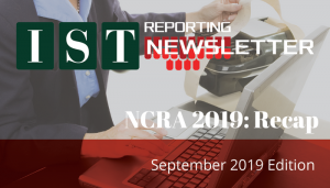 "<span class=""entry-title-primary"">IST Court Reporting Newsletter</span> <span class=""entry-subtitle"">September 2019 