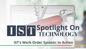 """<span class=""""entry-title-primary"""">Spotlight on Technology</span> <span class=""""entry-subtitle"""">IST's Work Order System: In Action</span>"""
